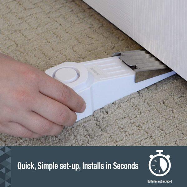 Wedge Door Stop Security Alarm