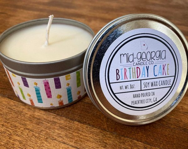 Birthday Cake Soy Wax Candle