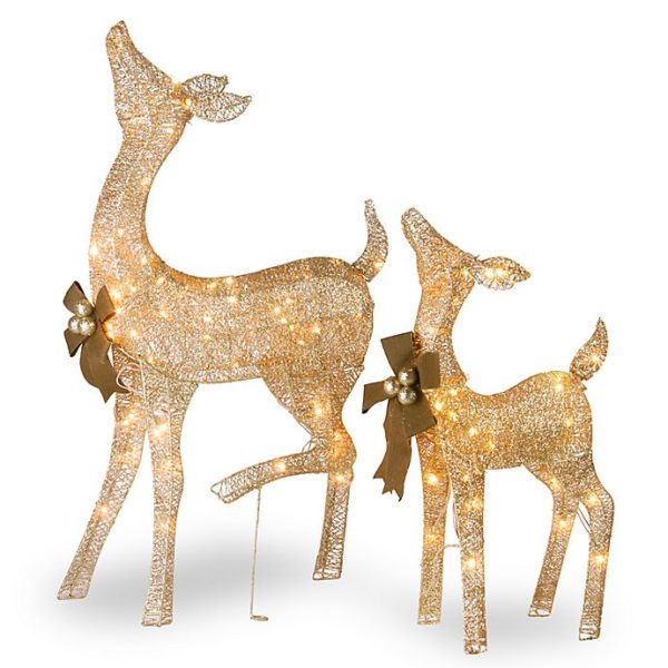 Fawn and Doe Decoration