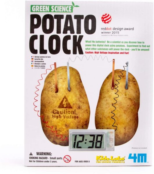 4M DIY Potato Clock Kit