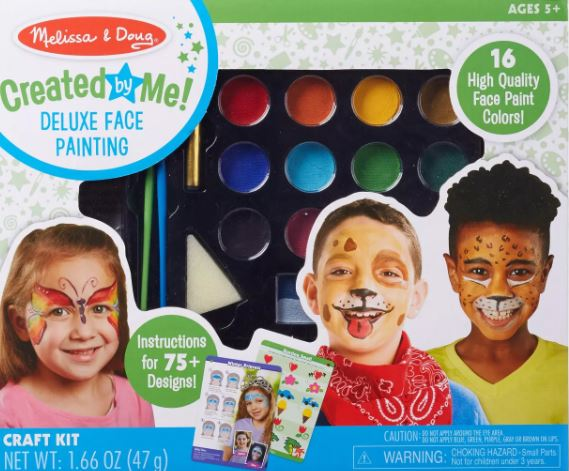 Melissa & Doug Deluxe Face Painting Kit