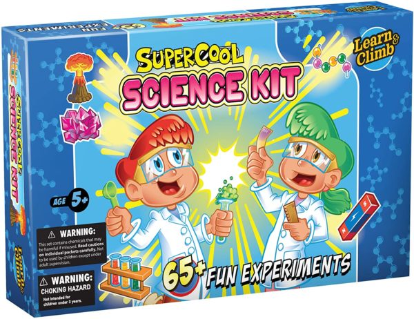 Learn & Climb Supercool Science Kit