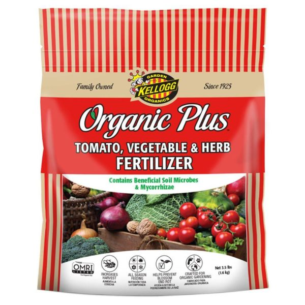 Organic Tomato Vegetable and Herb Fertilizer