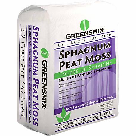 Greensmix Sphagnum Peat Moss