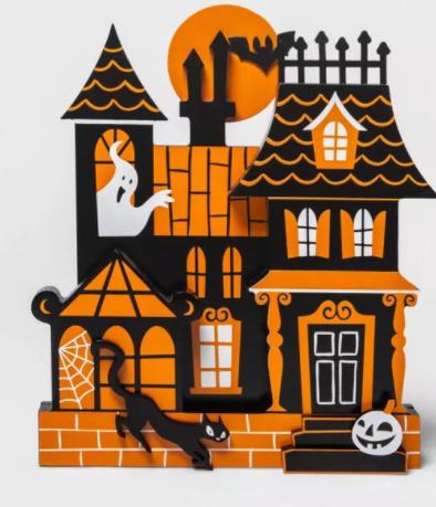 Haunted House Halloween Mini Mantle Decor Building - Hyde & EEK! Boutique™