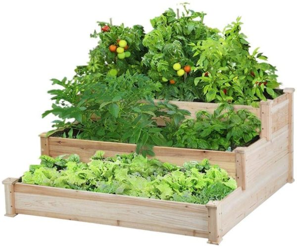 Tier Raised Garden Bed