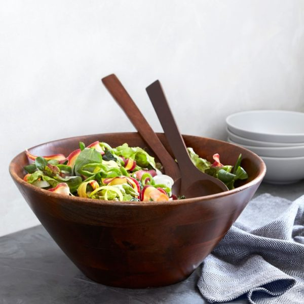 Open Kitchen by Williams Sonoma Wood Salad Bowl