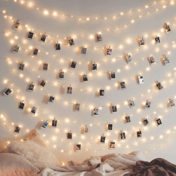 Twinkle Star Copper String Lights