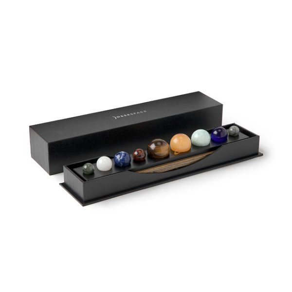 Gemstone Planetary Desktop Set