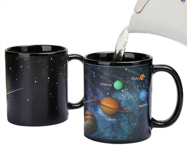 Heat Changing Solar System Magic Coffee Mug