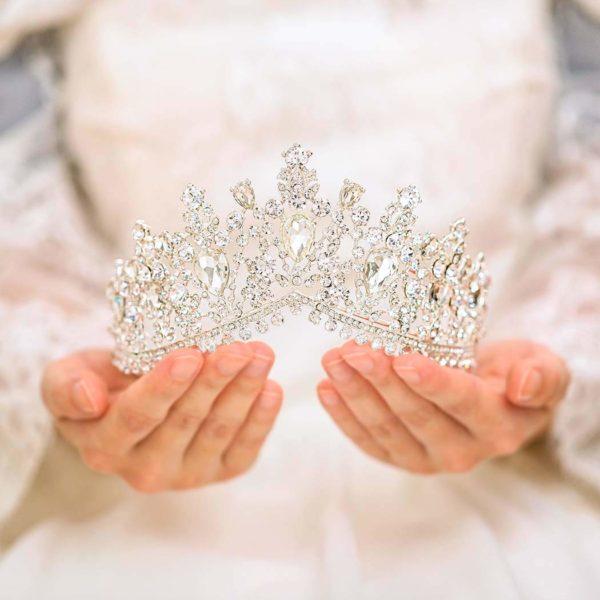 Crystal Wedding Crown