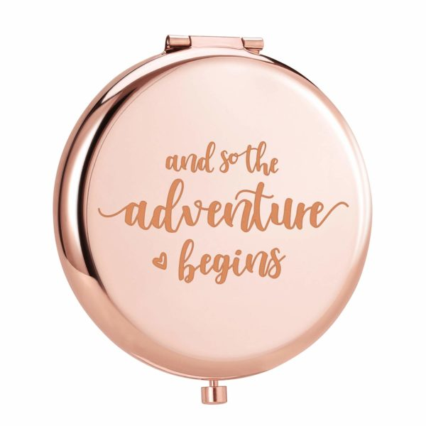 Engraved Personal Adventure Begins Compact