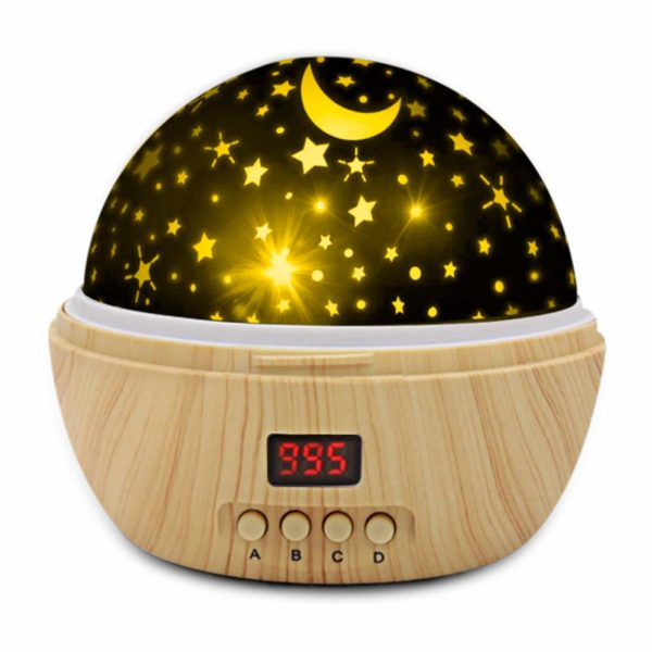 Star Projector Night Lights for Kids with Super Timer