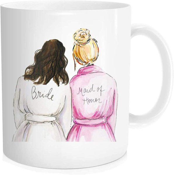 Maid Of Honor Bestie Coffee Mug