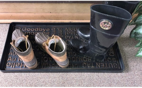 Hello Goodbye Boot Tray