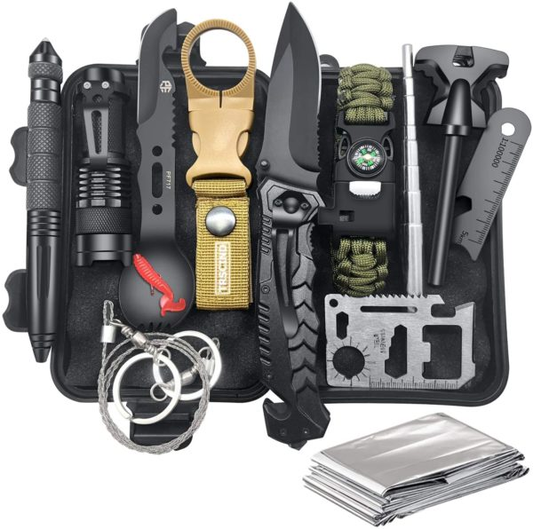 Survival Gear and Equipment 12 in 1