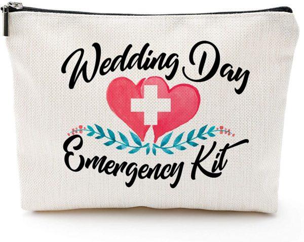 Wedding Day Emergency Kit Makeup Bag