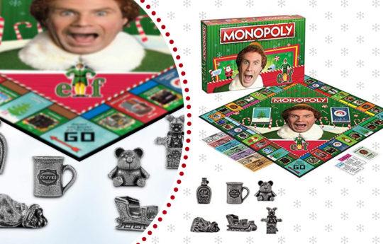 "So, Good News....You Can Play ""Elf"" Monopoly This Christmas"