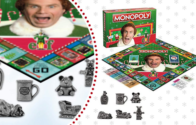 "So, Good News....You Can Play ""Elf"" Monopoly This Christmas"