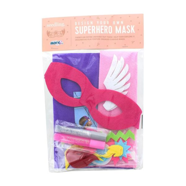 Nerd Block Design Your Own Superhero Mask Kit