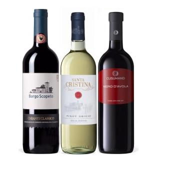 Italian Wine Gift Set