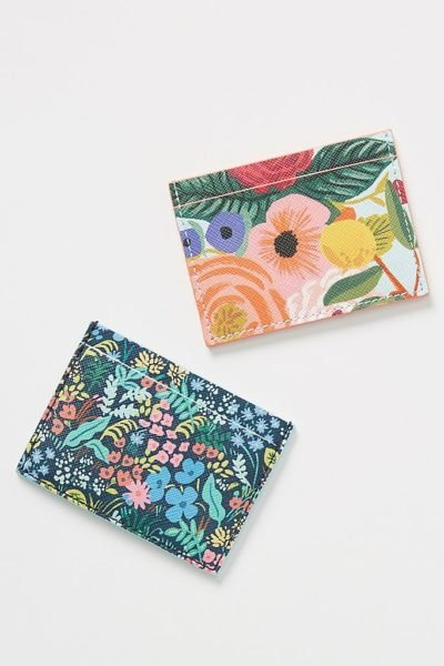 Rifle Paper Co. for Anthropologie Garden Party Card Case