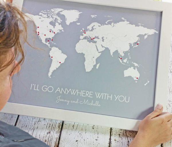 World Travel Map Print