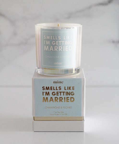 Champagne & Peonies Candle