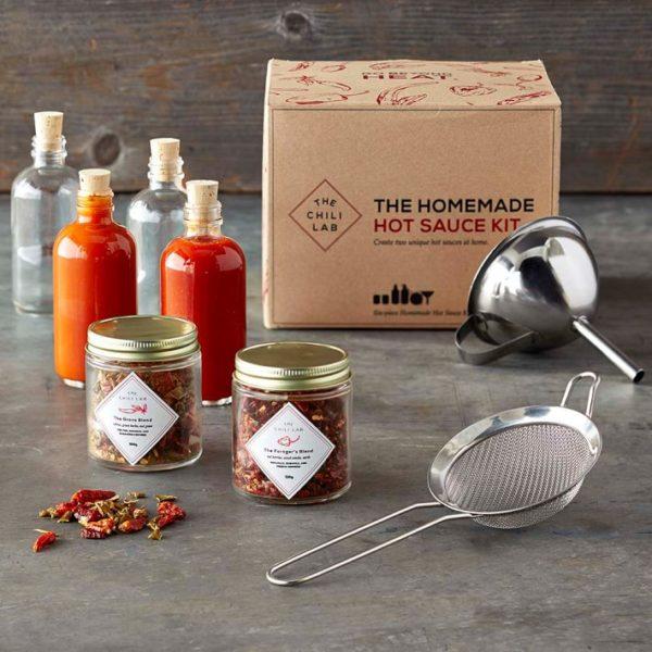 Chili Lab Homemade Hot Sauce Kit