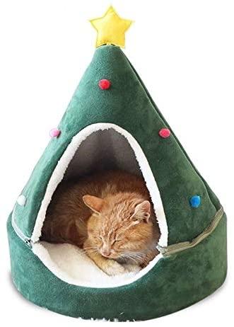 Cat Tent Cave Bed