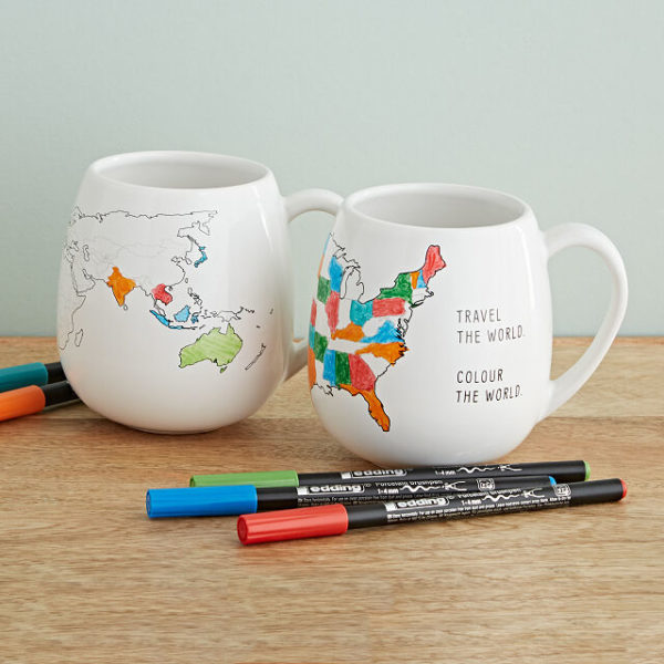 Color Map Mug