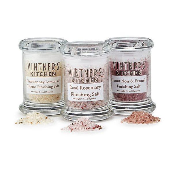 Wine-Infused Salts