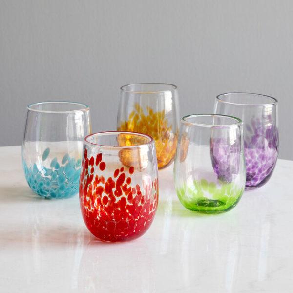 Handmade Birthstone Wine Glass