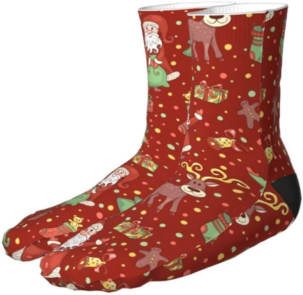 JingleBoo Christmas Socks