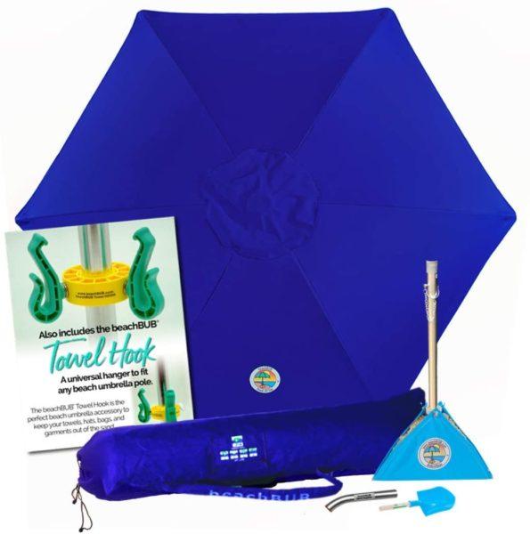 beachBUB ™ All-In-One Beach Umbrella System