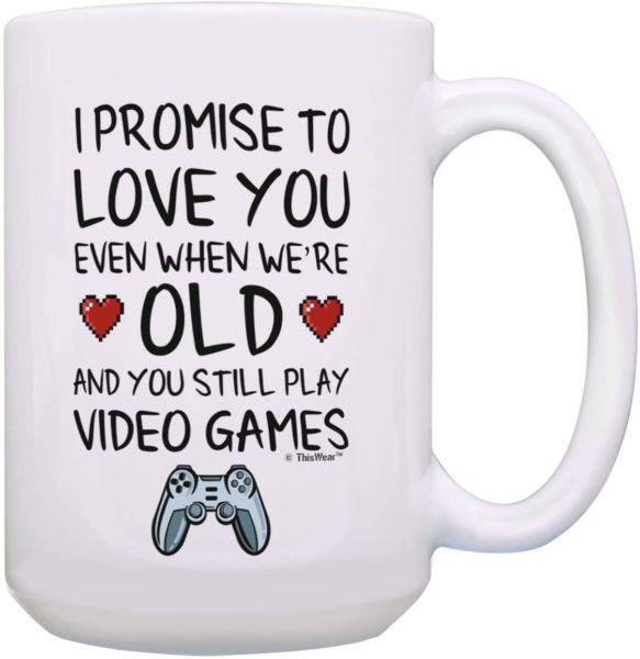 Nerdy Wedding Gift Coffee Mug