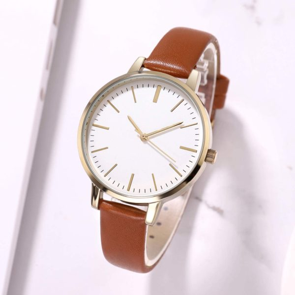 Women's Watches Leather Band