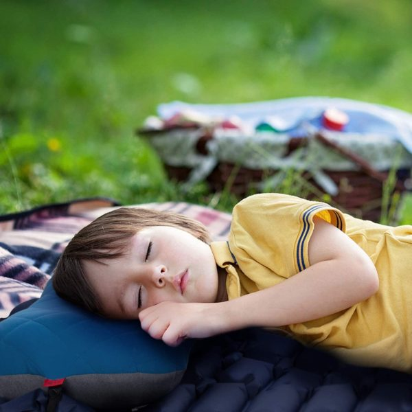 Camping Pillow with Removable Cover