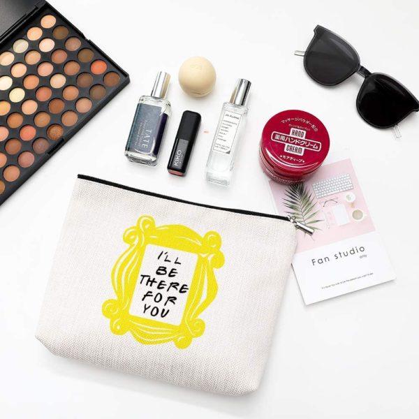 Peephole Yellow Frame Cosmetic Bag