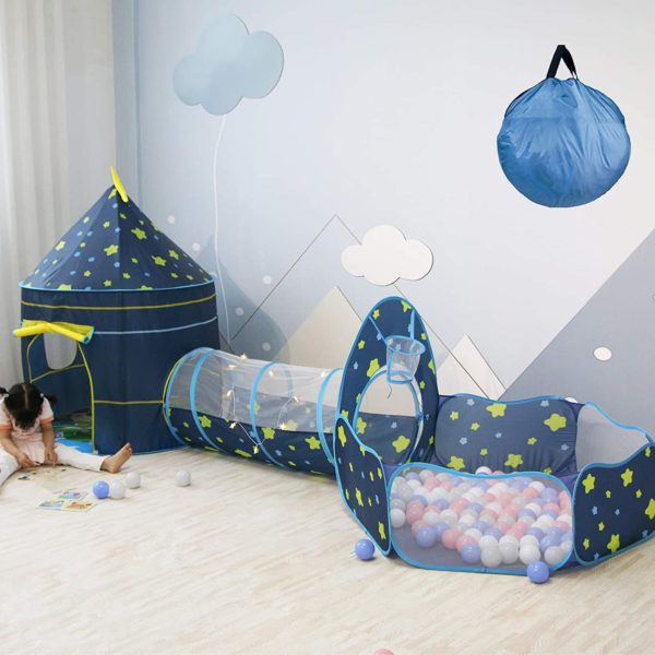 Kids Play Tents, Tunnel & Ball Pit