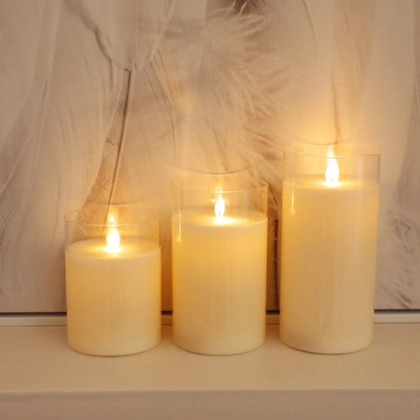 Led Flameless Candles, Battery Operated