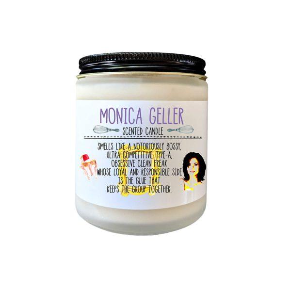 Monica Geller Friends TV Show Gift Candle