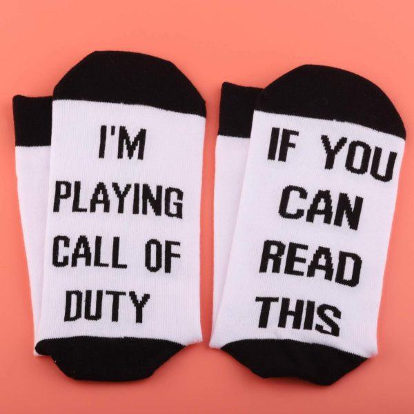 Call Of Duty Lover Gift Video Games Socks