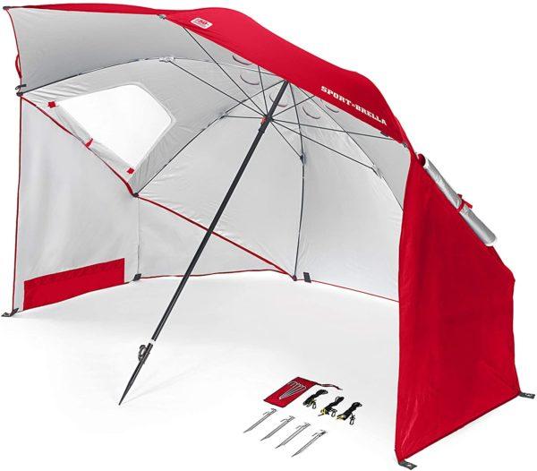 Sport-Brella Vented SPF 50+ Sun and Rain Canopy Umbrella