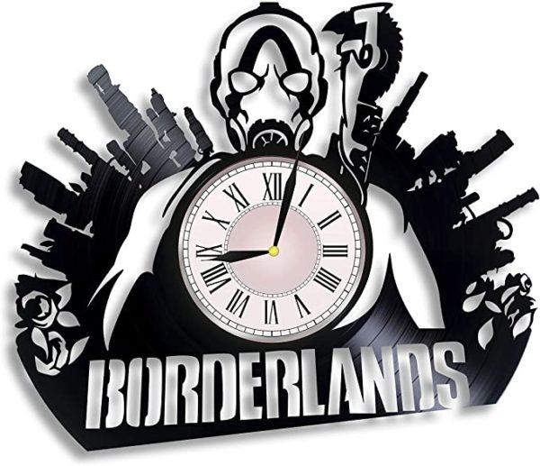 Borderlands Vinyl Record Wall Clock
