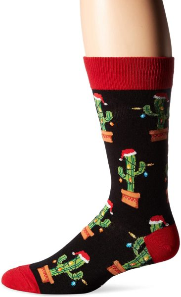 Socksmith Mens Christmas Cactus