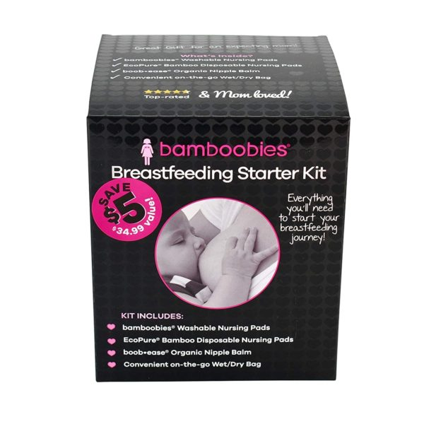 Bamboobies Breastfeeding Starter Kit
