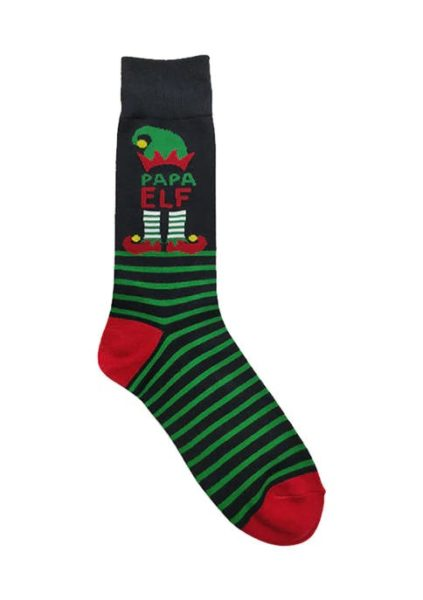 Papa Elf Socks