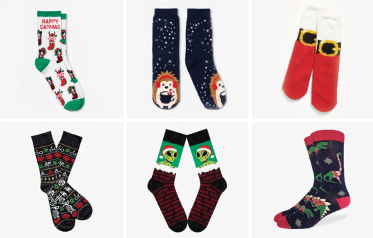 The 20 Cutest Christmas Socks We Could Find (2020)