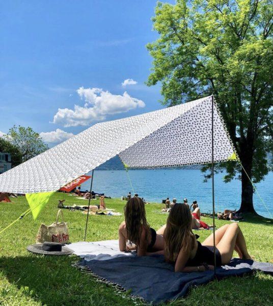 Miasun Portable Sun Shade Beach Tent Canopy